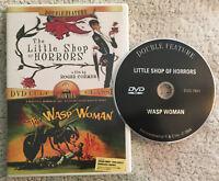 Little Shop of Horrors 1960 Wasp Woman 1959 (DVD OOP R1 2004) Corman Nicholson