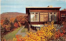 SHENANDOAH NATIONAL PARK VIRGINIA SKYLAND DINING ROOM POSTCARD 1960