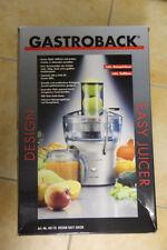 Gastroback 40118 Easy Juicer  Entsafter, /Saftpresse, gebraucht in OVP! Top!!