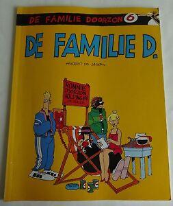 DE FAMILIE DOORZON 6 De familie D. 3e druk 1989 STRIPALBUM Gerrit de Jager