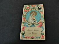 Christmas Greetings- Vintage, Printed & Imported from Italy-Catholic Holy Card.