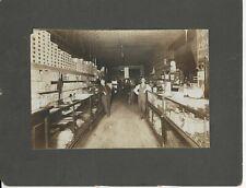 Possible Missouri-Sepia Photograph-Interior View of Store-Wm & C. B. Munns??