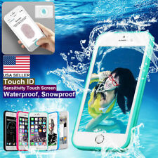 Waterproof Shockproof Hybrid Rubber Phone Case Cover For iPhone 11 X XS 8 7 6s 6