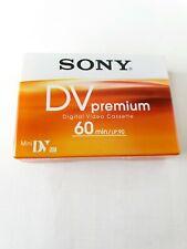 Sony DV Premium Digital video cassette  -  60min