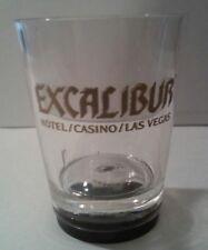 EXCALIBUR HOTEL CASINO LAS VEGAS, PLASTIC DICE PAIR SHOT GLASS NEW!