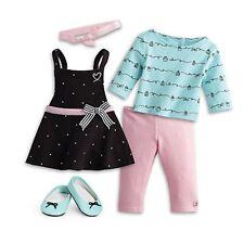 American Girl Grace's Baking Outfit GOTY 2015 NIB Dot Apron Cupcake Tee LE