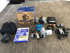 Sony Dcr-Pc105 Camcorder - Black/Silver, Excellent Condition, Extra Accessories