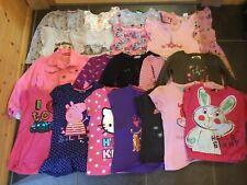 Girl's Bundle, 4-5 years, T-Shirts, Jacket, Long Sleeve Tops & Dresses