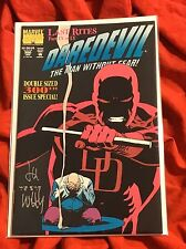 DAREDEVIL #300~HAND-SIGNED BY LEE WEEKS~FALL OF THE KINGPIN~DOUBLE SIZED~NM