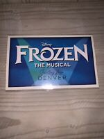 Frozen The Musical Denver Premier Exclusive Postcard