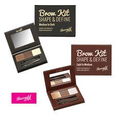 Barry M Brow Kit - Shape & Define Eyebrow Make Up Powder, Brush, Wax & Tweezers