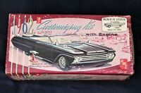 AMT 1962 Mercury Meteor 2 Dr Sedan Custom Empty Box Plastic model kit 3 in 1