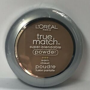 L'ORÉAL Trumatch Super Blendable Powder WARM W7 Sealed