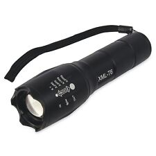 Tactical Military Grade Torch 2000LM Bright G700 T6 XML LED Light - UK Seller