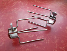 Farberware Open Hearth Rotisserie Grill Lot of 2 Spit Rod Forks 400 Series