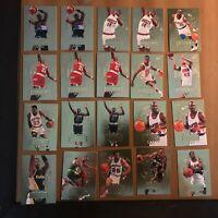 1995-96 Ultra Gold Medallion Edition 20 Card Lot Clyde Drexler G Payton + More