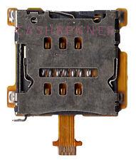 SIM FLEX CONNETTORE LETTORE SCHEDE CARD READER SLOT connector HTC ONE MINI m4