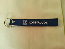 Rolls Royce I'd Rather Be Flying Flight Tag Keychain / New / Style 1