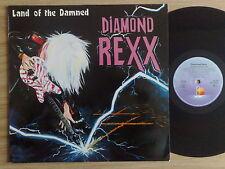 "DIAMOND REXX - LAND OF THE DAMNED - LP 33 GIRI 12"" GERMAN PRESS"