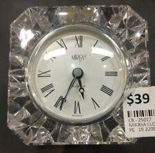 Mikasa Crystal Clock Made In Germany