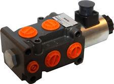 "hydraulic 6 port solenoid diverter/ selector valve 1/2""BSP 12VDC 13gpm DVS6-6/2"