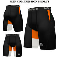 Vulkan homme Multisport Lycra Short Pantalon Pantalon Blanc Sports Squash