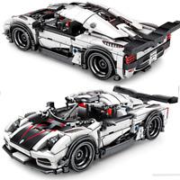 Custom Technic Agera Car 42056 42083 42099 42110 Bausteine Blöcke MOC 1288 Teile