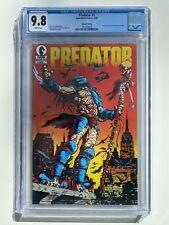 Predator #1 2nd Print 1st App Predator In Comics Cgc 9.8 HTF RARE