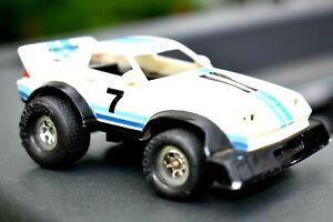 SCHAPER STOMPER Chevrolet CAMARO #7 Vintage Battery Operated Toy Light's Up
