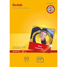 Paper Photo Kodak A4 Premium Gloss 240gsm Pk50