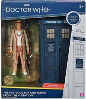 Doctor Who - Fifth Doctor and TARDIS Set  from 'The Visitation' 1982