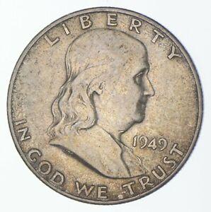 Tough 1949-S Franklin 90% Silver US Half Dollar *867