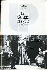 LA GUERRE DES FEES / MARTIN SHORT.KATHLEEN TURNER  .Dossier de Presse UNIVERSAL