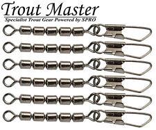 Spro Trout Master 3-Jointed Wirbel Gr 14 22kg 4618006 Dreifachwirbel Sbiro