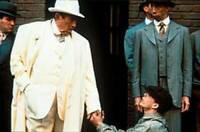 ANTHONY QUINN 2 Cream Wool COTRONEO Coats MOBSTERS, 1991 Movie Worn