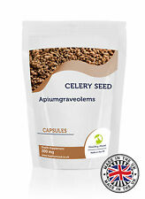 Celery Seed  200mg  x 120 Capsules Health Food Supplements