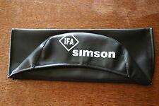 Sitzbezug SIMSON - schwarz, glatt für S51, KR51/2, S70 Sitzbank Bezug Schwalbe