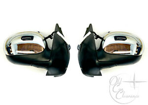 2002 Lincoln Blackwood Door Mirror Set RH/LH (2C6Z17682AA, 2C6Z17683AA) NOS