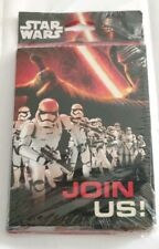 Star Wars Party 8 count invitations and thank you cards combo pack