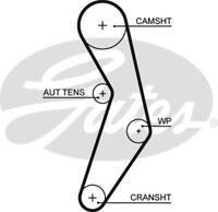 Gates Timing Belt Cam Belt for FIAT PUNTO 1.2 1.4 CHOICE1/2 GRANDE 176 188 199