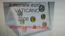 BU VATICAN 2006 8 pièces 3,88 EURO Benoit XVI Vaticano Vatikan Ватикан Benedetto