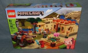 Lego Minecraft Set #21160, The Illager Raid, New in Sealed Box, 562 Pieces, 8+