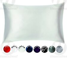 Satin Pillowcase Queen Standard Facial Hair Safe Health Face Care Hypoallergenic