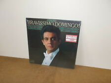 PLACIDO DOMINGO : BRAVISSIMO DOMINGO Vol.2 - LP USA 1982 SEALED - Classical