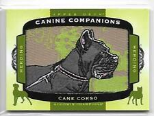 2018 Upper Deck Goodwin Champions Cane Corso Patch Card