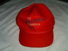 Chevrolet Chevy Vintage Snapback Hat Cap Retro 90s The Heartbeat of America