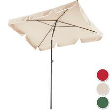 Alu Sonnenschirm UV50+ Gartenschirm Strandschirm Marktschirm Balkonschirm 2m