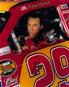 KEVIN HARVICK SIGNED AUTOGRAPH 8X10 PHOTO PICTURE IMAGE NASCAR RACING #1