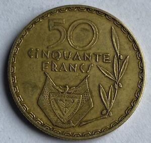 Rwanda 50 Francs 1977 (KM#16)