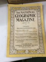 ANTIQUE NATIONAL GEOGRAPHIC AMERICAN VINTAGE January 1926